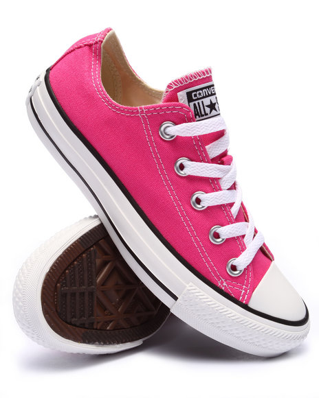 Ur-ID 220385 Converse - Women Pink Chuck Taylor All Star Hi Sneakers (Unisex)