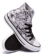 Women - Floral Print Chuck Taylor All Star Hi Sneakers
