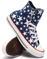 Women - Star Print Chuck Taylor All Star Hi Sneakers (Unisex)