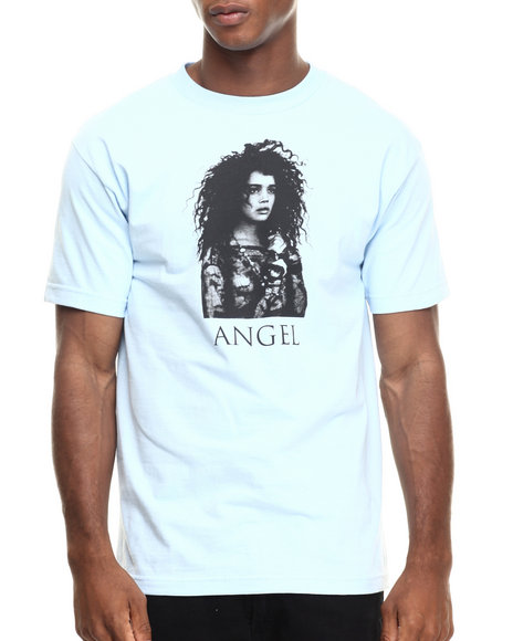 Ur-ID 220322 Acapulco Gold - Men Light Blue Dark Angel Tee