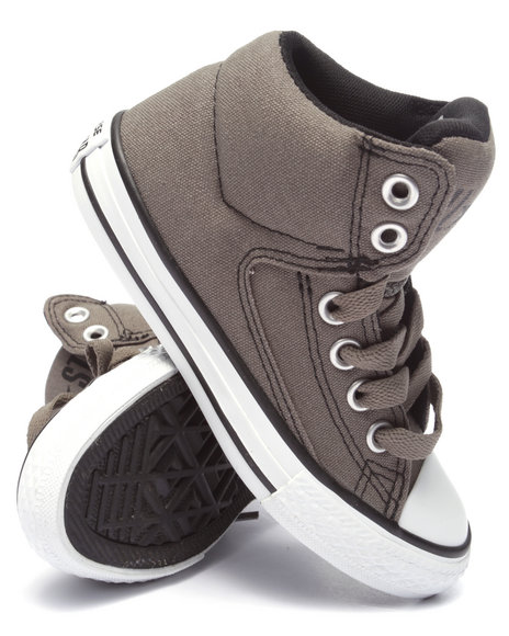 Converse - Boys Grey Chuck Taylor All Star High Street Sneakers (11-3)