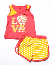 Sizes 4-6x - Kids - 2 PC LOVE TANK & SHORTS (4-6X)