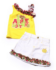 Sets - 2 PC SKIRT SET (INFANT)