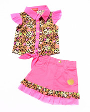Apple Bottoms - 2 PC SKIRT SET (INFANT)