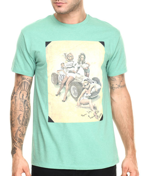 Akoo - Men Green Grand Prix Party Tee