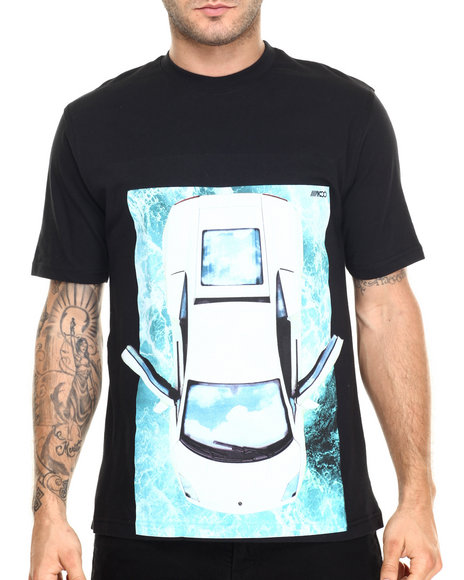 Ur-ID 220403 AKOO - Men Black Lambo Dreams Tee