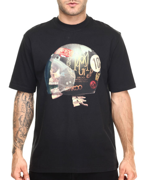 Ur-ID 220411 AKOO - Men Black Screamin' Tee