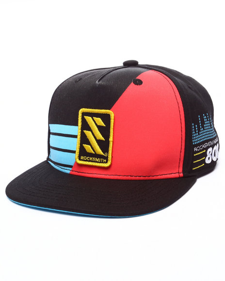 Rocksmith Men Hi Def Snapback Black
