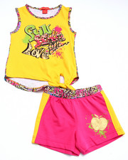 Sets - 2 PC GRAFFITI TANK & SHORTS (4-6X)