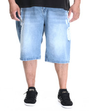 Akademiks - Hart Denim Shorts (B&T)