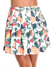Women - Orange Blossom Pleats Skirt