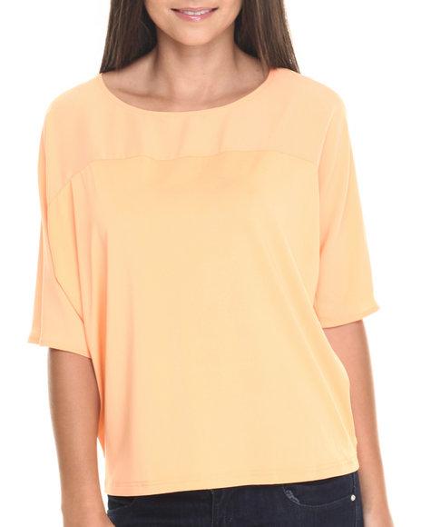 Orange Fashion Tops