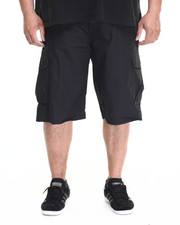 Big & Tall - Jefe Belted Ripstop Cargo Shorts (B&T)
