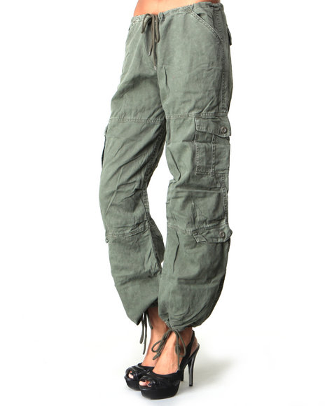 Rothco Women Rothco Women's Vintage Paratrooper Fatigue Pants Olive X-Small
