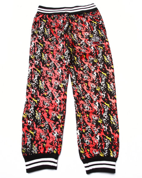 Enyce - Boys Red Splatter Joggers (8-20) - $13.99
