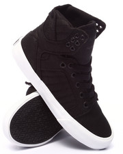 Supra - Skytop Black Waxed Canvas Sneaker