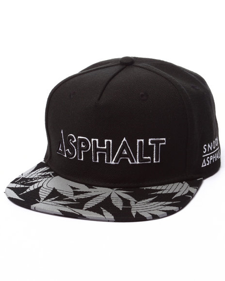 Asphalt Yacht Club Men Ayc X Snoop Dogg Lit Kush Reflective Snapback Black - $26.99
