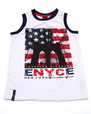 Tops - BROOKLYN BRIDGE AMERICANA TANK (8-20)