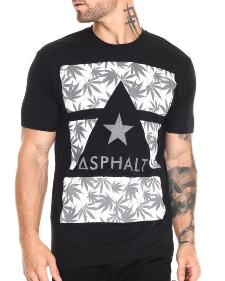 Asphalt Yacht Club - Men Black Ayc X Snoop Dogg Kush Delta Tee