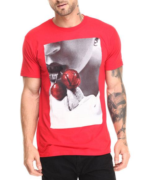 Vampire Life - Men Red Vamp Cherry T-Shirt - $20.99