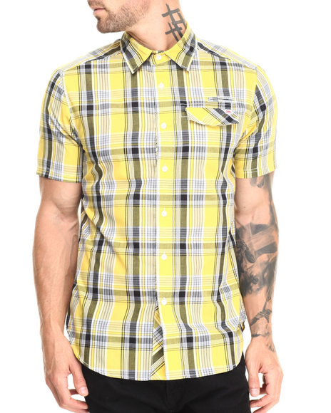Ecko - Men Yellow Intent S/S Button-Down