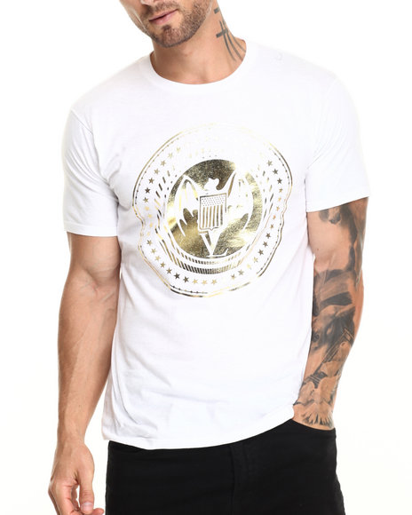 Vampire Life - Men White Pres Bat T-Shirt