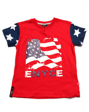 Sizes 4-7x - Kids - AMERICAN FLAG TEE (4-7)
