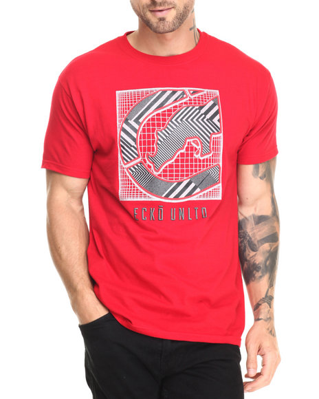 Ecko - Men Red Advanced Execution T-Shirt
