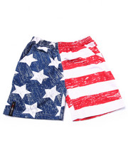 Bottoms - AMERICAN FLAG SHORTS (4-7)