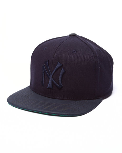 American Needle Men The Ny Yankees Tonalism Nubuck Strapback Hat Navy - $14.99
