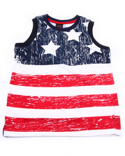 Tops - AMERICAN FLAG TANK (8-20)