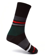 Men - Dino/Stripes 2Pk Crew Socks