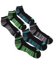 Accessories - Quarter 1/2 Cushion 6Pk Socks