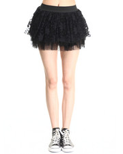 Skirts - Ballerina Ruffles Mini Skirt