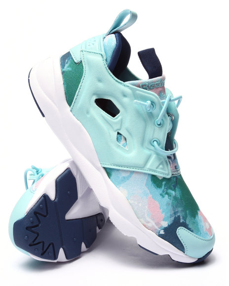 Ur-ID 220642 Reebok - Women Light Blue Furylite Sr Sneakers