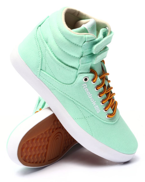 Ur-ID 220649 Reebok - Women Green Freestyle Hi Intl Fvs Wc Sneakers