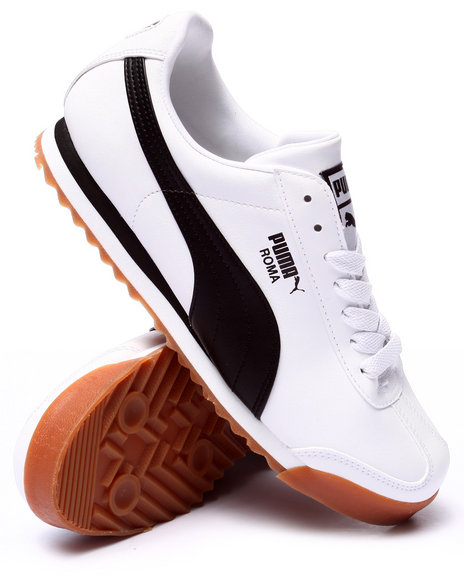 Puma - Men White Roma Basic Lo