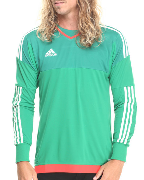 Ur-ID 220626 Adidas - Men Green Goalkeeping Jersey