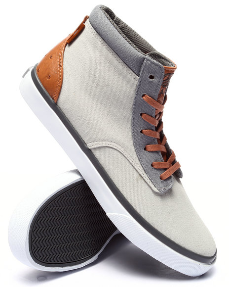 Ur-ID 220690 Radii Footwear - Men Grey Basic Sneaker