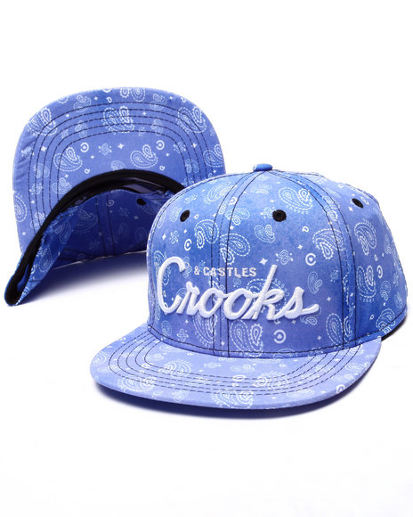 Crooks & Castles - Women Blue Squad Love Snapback