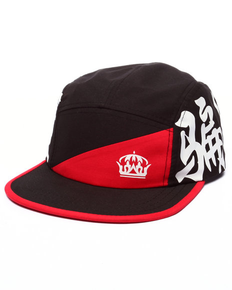 Crooks & Castles - Men Black Dynasty 5 Panel