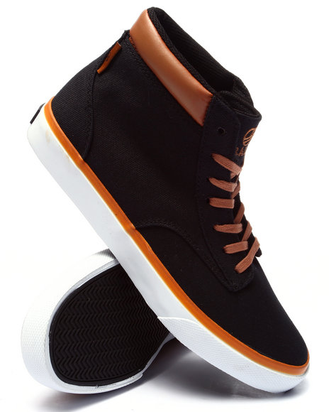 Radii Footwear - Men Black Basic Sneaker