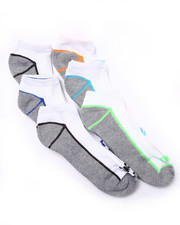 Men - No Show 1/2 Cushion 6Pk Socks