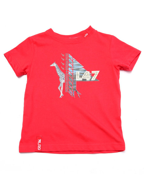 Lrg - Boys Red Beast Out Tee (2T-4T) - $9.99