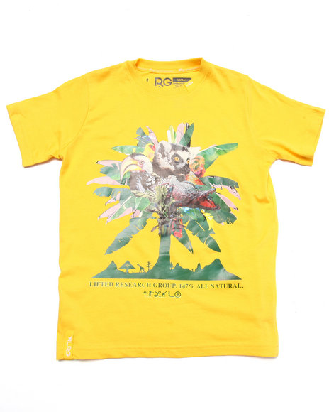 Lrg - Boys Yellow All Natural Tee (8-20)