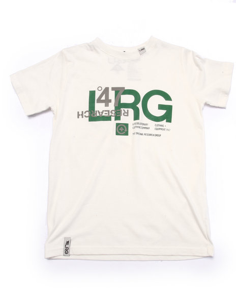 Lrg - Boys Green Reflection Tee (8-20) - $11.99