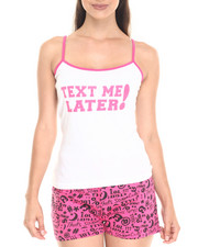 Women - Text Me Later Cotton Short Set