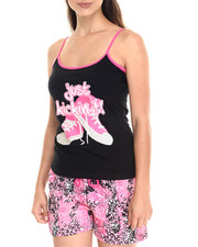 Women - Just Kicking it Animal Cotton Short Set