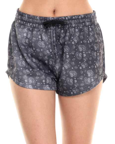 Ur-ID 220762 Crooks & Castles - Women Black Squad Love Sweatshort