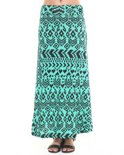 Fall Shop - Women - Aztec Print Maxi Skirt